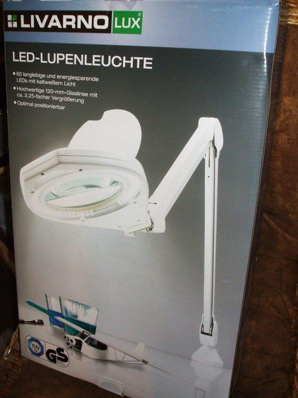 Bei Lidl Ab 081214 LED Lupenleuchte Mit Klemmhalter