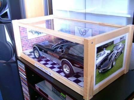 Häufig Präsentieren Vitrine für Automodelle 1:8 billig Bauen - Fotografie JI56