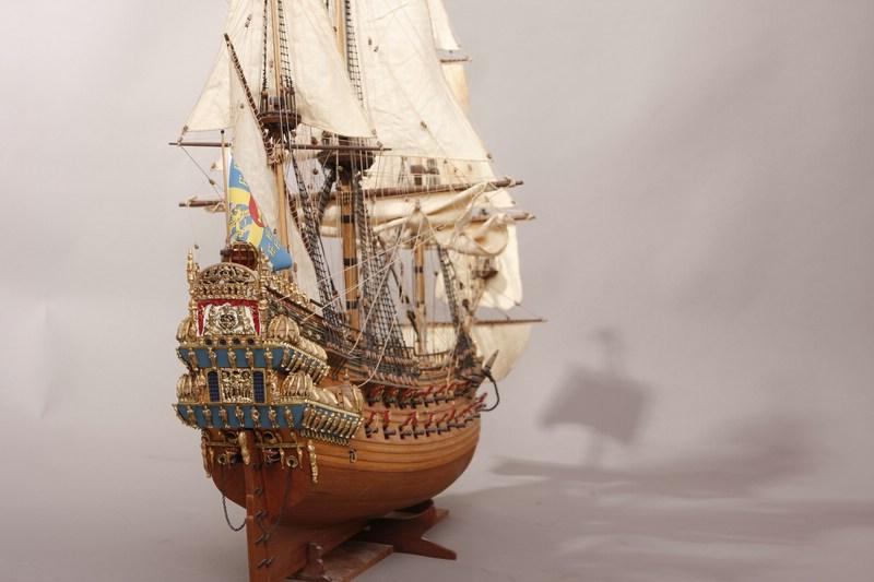 holz schwedische galeone wasa 1628 segelschiffe das wettringer modellbauforum. Black Bedroom Furniture Sets. Home Design Ideas